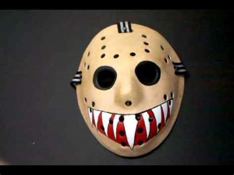 Misfits custom Eric Arce Goat Killer hockey mask - YouTube