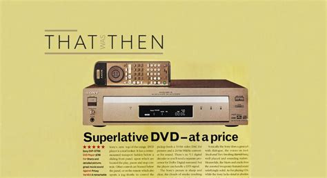 That Was Then… Sony DVP-S7700 | What Hi-Fi?
