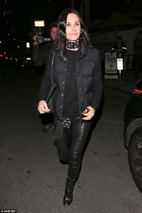 Courteney Cox steps out looking glamorous after Johnny