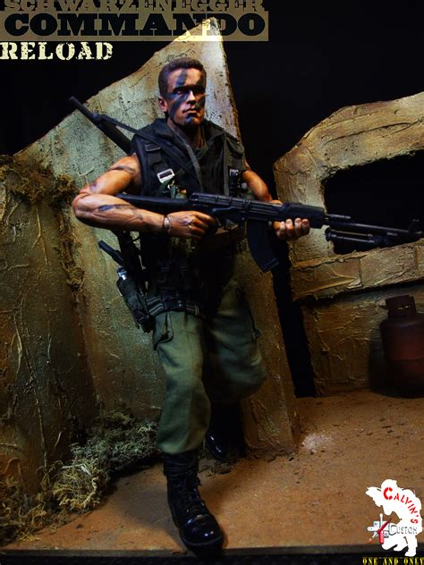 Calvin's Custom One Sixth COMMANDO figure - Arnold