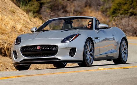 2018 Jaguar F-Type Convertible (US) - Wallpapers and HD