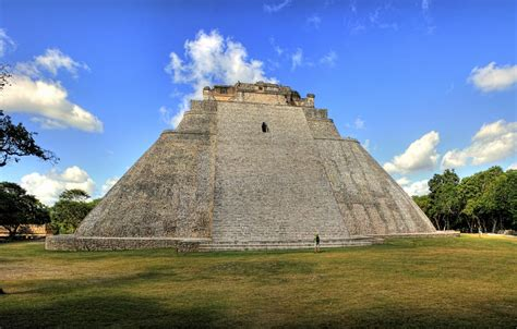 Pyramid of the Magician - Temple in Mexico - Thousand Wonders