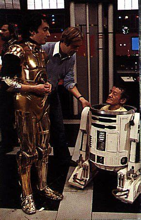 "Behind the scenes/""Star Wars"" - Anthony Daniels & Kenny"