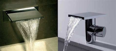 Waterblade Bath Filler - Waterfall Spout - Livinghouse