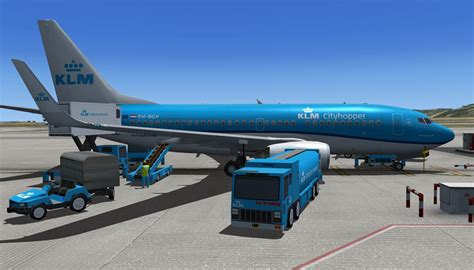 KLM Cityhopper Boeing 737-700 PH-BGY for FSX