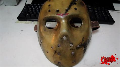 Jason X hockey mask by Auz - YouTube