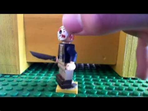 custom lego jason voorhees 2009 minifig (old) - YouTube