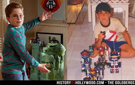 He-Man Castle Grayskull on The Goldbergs pictured next to