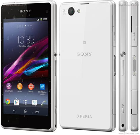 Sony Xperia Z1 Compact pictures, official photos