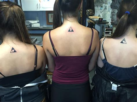 A friend and her sisters decided to get tattoos