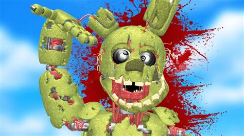DEATH OF SPRINGTRAP! (Gmod FNAF Sandbox Funny Moments