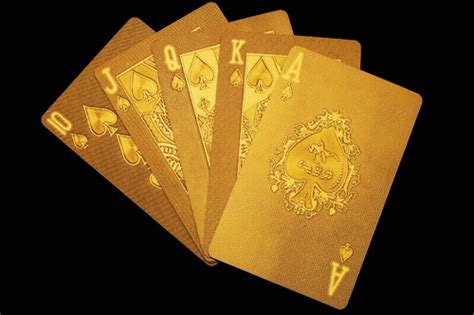 Las Vegas Pure Gold playing cards | Make it Gold