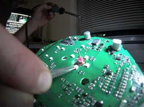 LEDs Replacement on Circuit Board for Vespa GTS 250 - YouTube