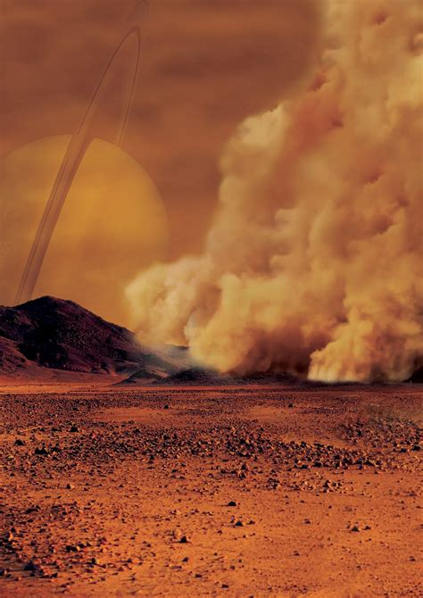 Titan's Kicking Up Dust | Read Space Scoops | Space Awareness