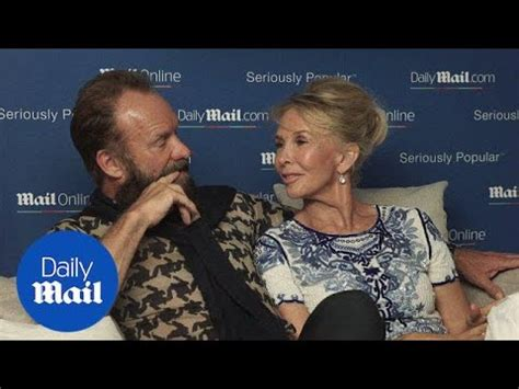 Sting and Trudie Styler on a long and successful marriage