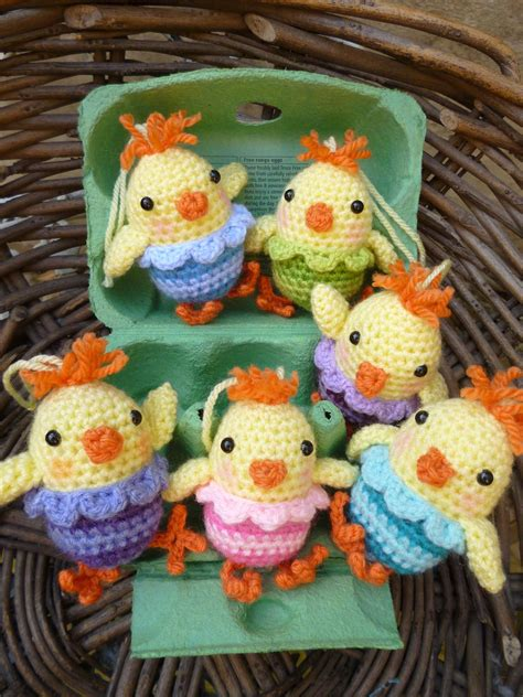 Little Chirpy Chicks - free crochet pattern | Horgolás