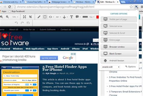 5 Full Web Page Screenshot Extensions For Google Chrome