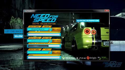 Need For Speed Game 2015 free Origin Keys - YouTube