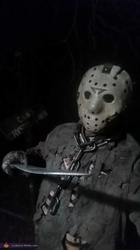 Jason Voorhees Part 7 Costume - Photo 5/10