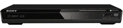 Sony DVD player Ultra Slim DVP-SR370 - Black | Souq - UAE