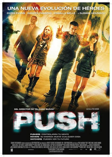 Push Movie Poster (#6 of 7) - IMP Awards