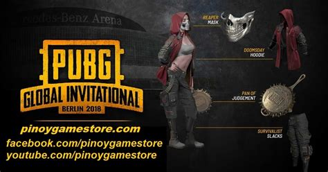 Exclusive PGI skin for PUBG FAQs ~ Pinoy Game Store