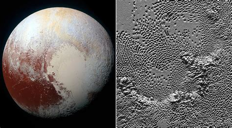 NASA releases spellbinding details of Pluto's surface