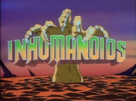 Inhumanoids Cartoon Intro - YouTube