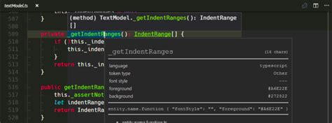 Optimizations in Syntax Highlighting, a Visual Studio Code