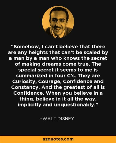 Walt Disney quote: Somehow, I can't believe that there are