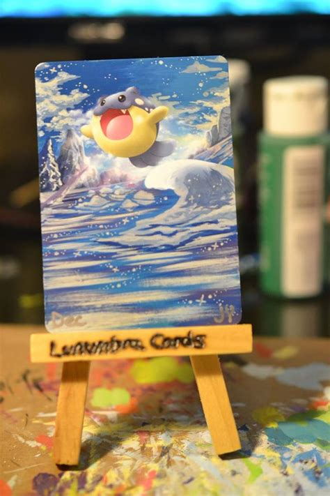 Lunumbra's Awesome Painted Pokemon Cards | YouBentMyWookie