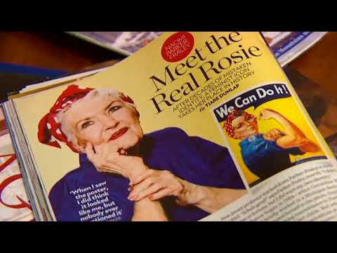 The Real 'Rosie the Riveter' Naomi Parker Fraley Has Died