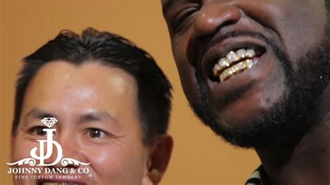 Johnny Dang Ices out Shaq Aka Shaquille O'Grill (Old Store