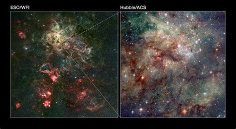 Arachnophobes beware: Hubble snaps close-up of the